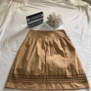 Old Navy Beaded & Embroidery A line Skirt